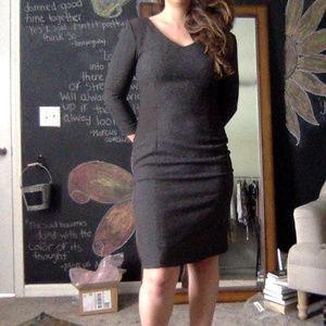 Antonio Melani Tweed Brown Dress